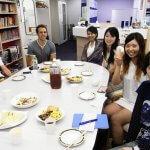 8月28日のスピ☆カフェは、明るいドイツとスイスの青年2人