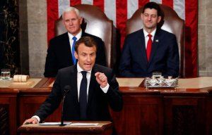 Emmanuel Macron,Mike Pence,Paul Ryan