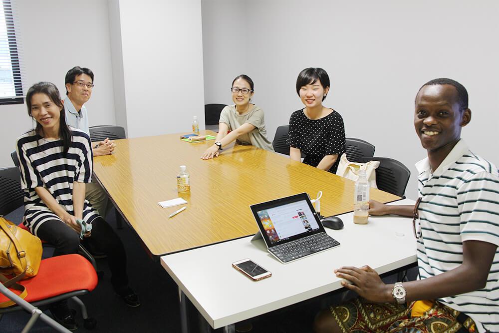 【レポート】8月5日(日)のスピカフェは九大院生のルワンダ人男性と語学教師のフランス人男性でした!
