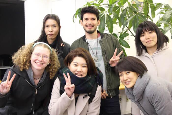 【レポート】12月8日(土)のスピ☆カフェは、アメリカ人女性とメキシコ人男性がゲストでした!