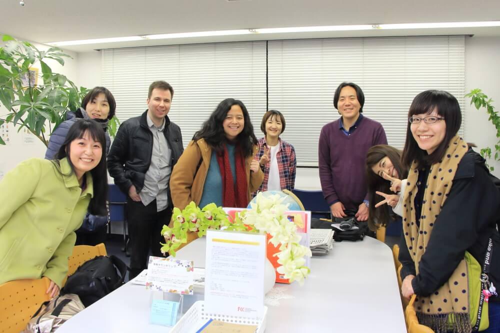 【レポート】2月24日(日)のスピ☆カフェは、インドネシア人女性とカナダ人男性でした!