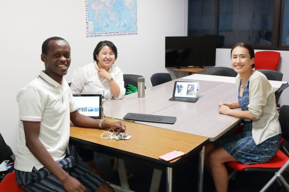 【レポート】7月28日(日)のスピ☆カフェは、ルワンダ人男性とヴェネズエラ人男性でした!