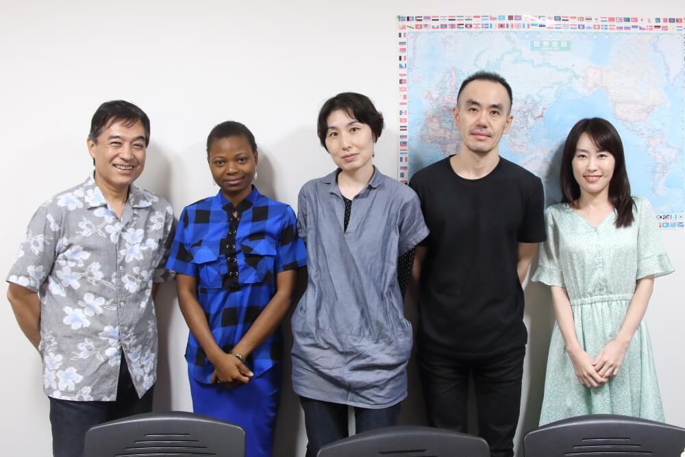 【レポート】8月31日(土)のスピ☆カフェは、日米ハーフの女性とナイジェリア人女性でした!