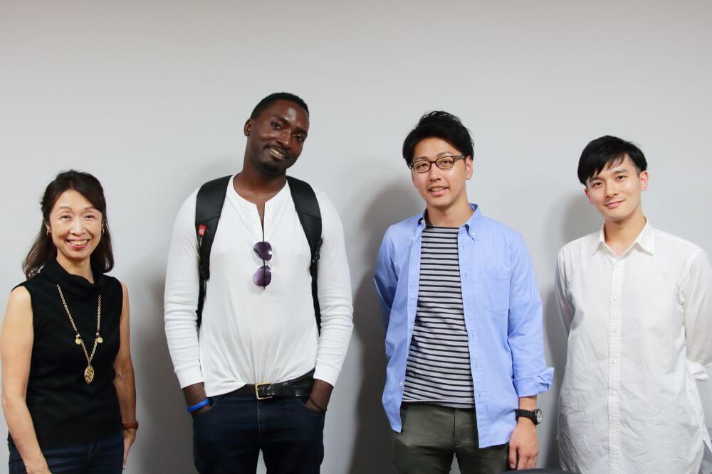 【レポート】9月14日(土)のスピ☆カフェは、ドイツ人男性とウガンダ人男性でした!